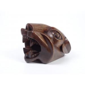 Sculpture Panther Head,...