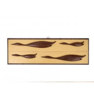 Mid Century Wooden Ducks...
