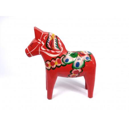 Vintage Red Dala Horse, 26 cm, Nils Olsson