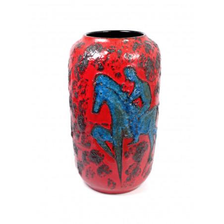 Scheurich 'Blaue Reiter' Floor Vase 546-40