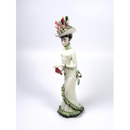 Elegant Dressed Lady, Tarcisio Tosin Pottery