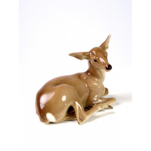 Nymphenburg Deer Figure