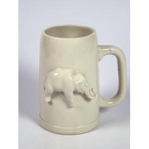 Mug with Elephant by Karl Ens