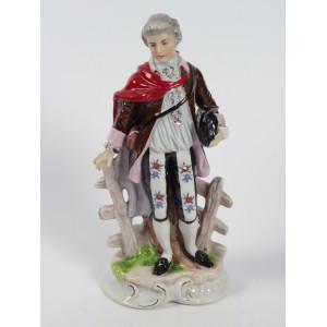 Porcelain Baroque Man,...