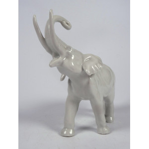 Porcelain elephant by...