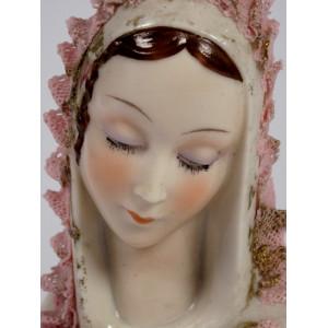 Porcelain Madonna by Müller...