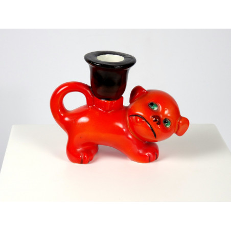 Mid-Century Bonzo the Dog Candle Holder