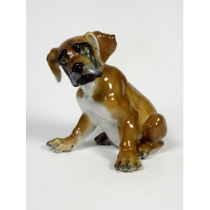 Boxer Puppy Dog by Rosenthal