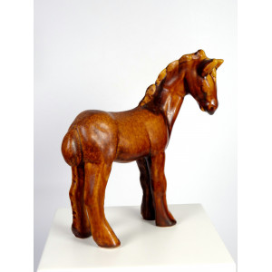 Mid-Century Ceramic Foal by...