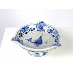 Antique Dish by Royal Delft