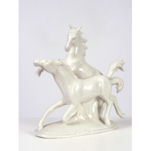 Horses Figurine by Wagner &...