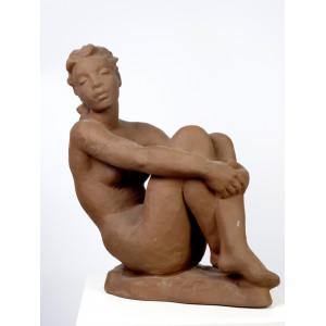 Nude by Karlsruher Majolika