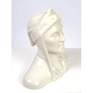 Ceramic Bust of Dante...