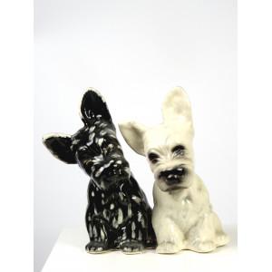 Mid-Century Terrier Dogs...