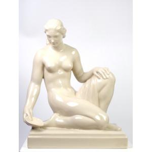 Kneeling Nude by August...