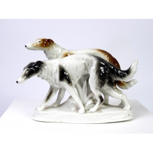 Borzoi Dogs by Fasold & Stauch