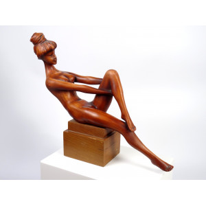 Mid-Century Figurine by...