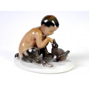 Goebel Faun Figurine