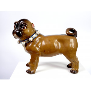 Antique Pug Dog by Conta &...