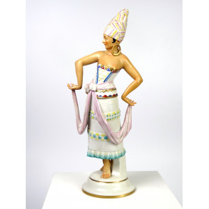 Dancing Lady in Oriental...