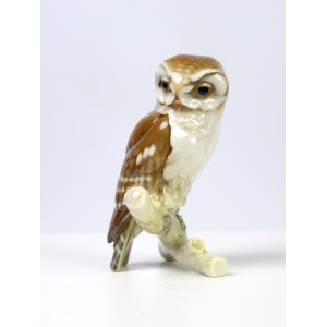 Miniature Wood Owl by...