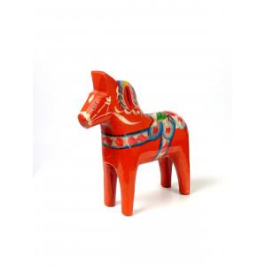 Vintage Red Dala Horse, 10...