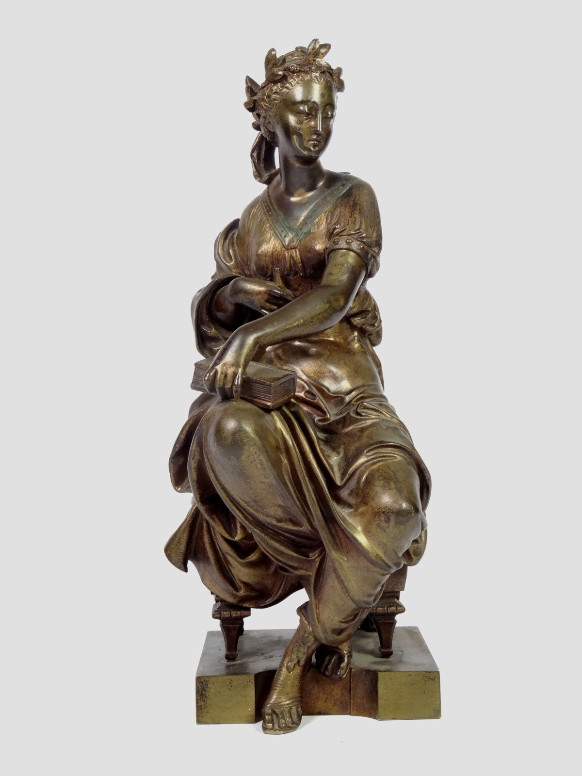 Antique Bronze Classical Statue by Mage