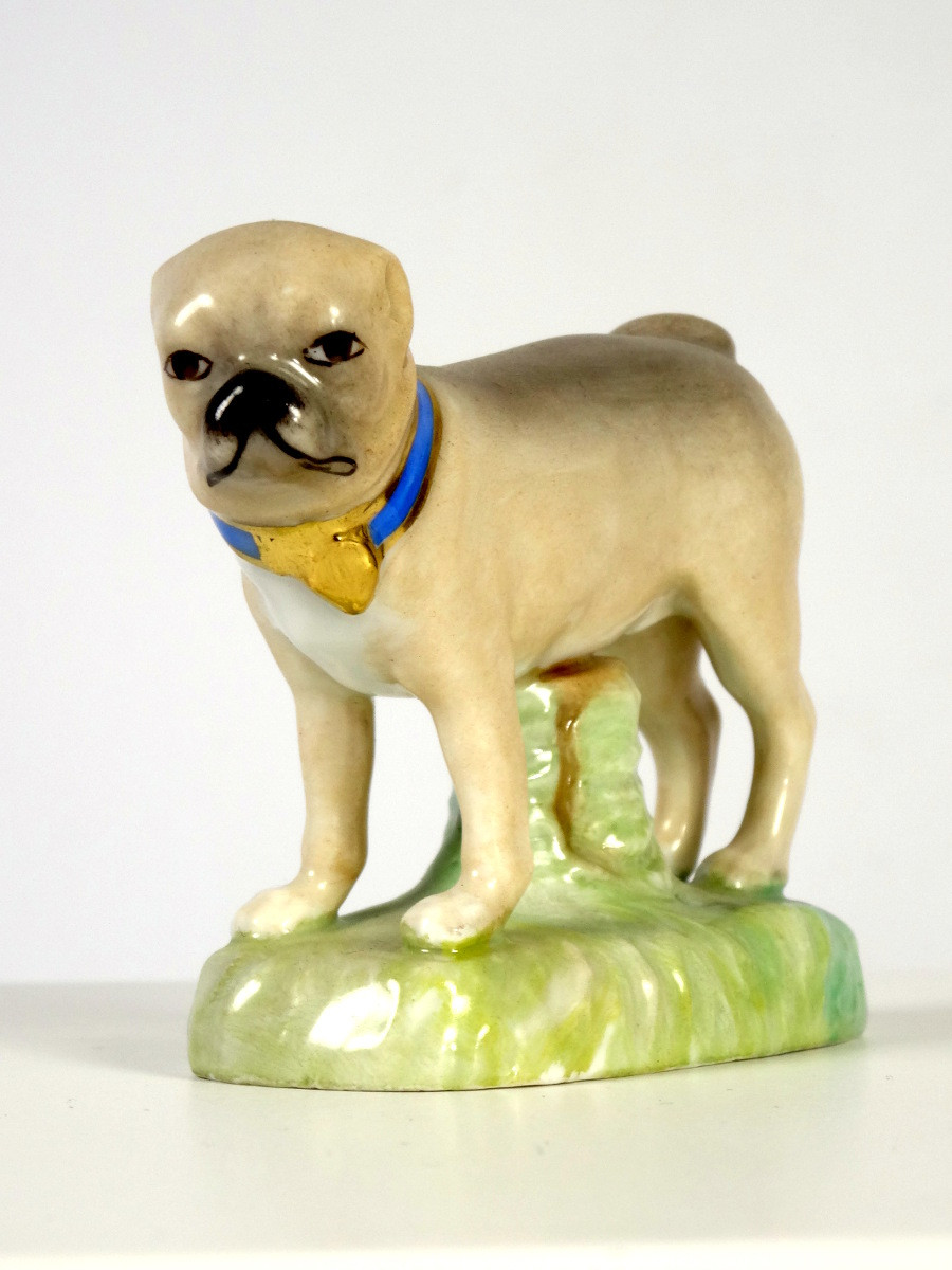 Pug Dog by KPM Berlin 1837-1844